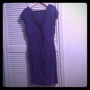 Ralph Lauren deep purple dress